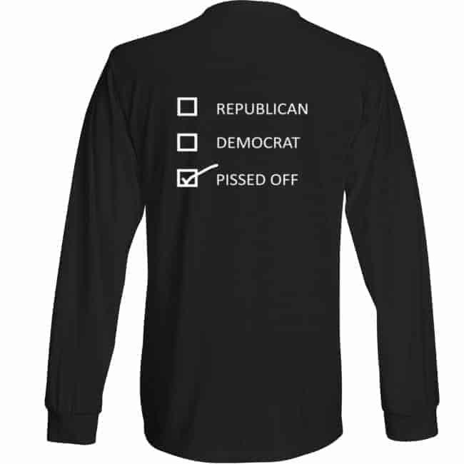 3e60e7f545b Pissed Off T-shirts - women's long sleeve - Primary the Ruling Class